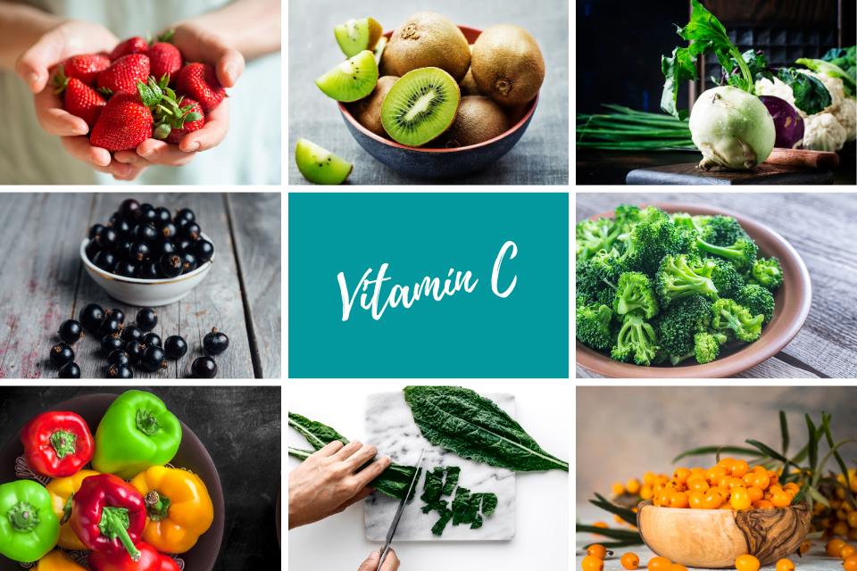 Najlepšie zdroje vitamin C