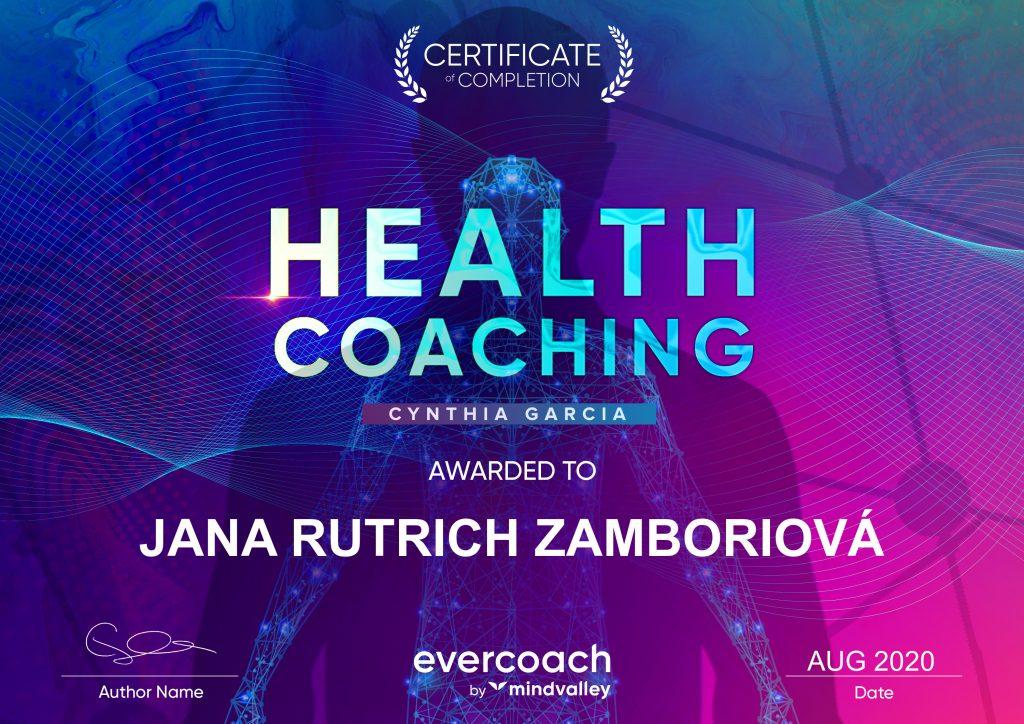 Health coaching certifikat
