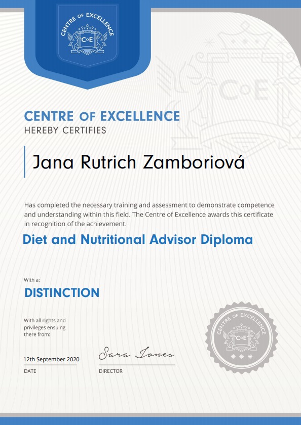 certificate-nutrition