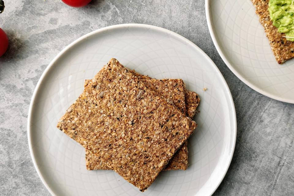 Domáce semienkové krekry (bez múky, vegan, paleo)