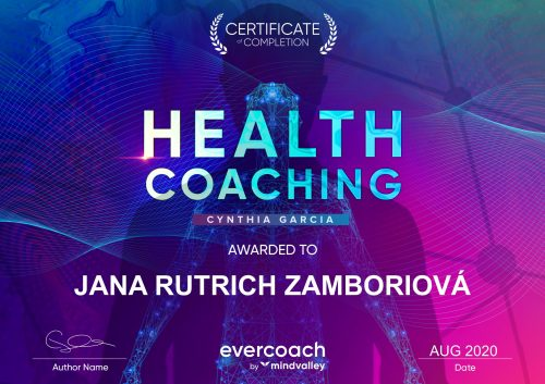 Health coaching certifikat