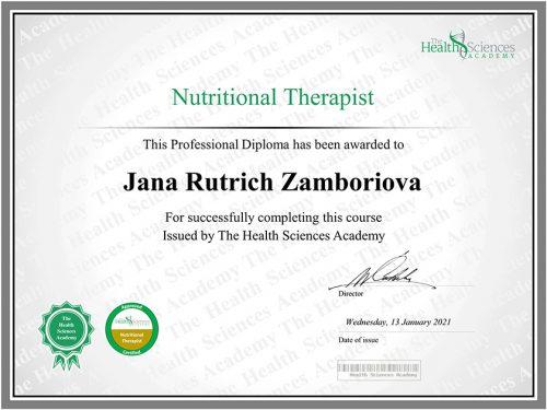 nutričná terapia
